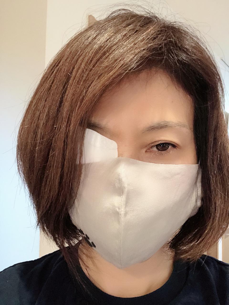 て マスク やっ